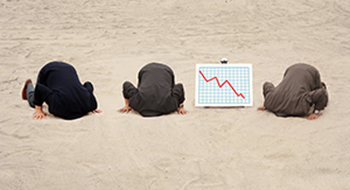 head in the sand is bad for business